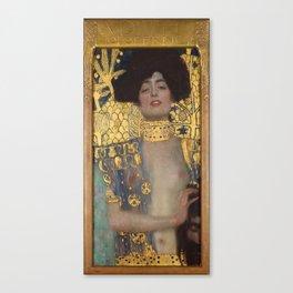 Gustav Klimt - Judith and the Head of Holofernes Canvas Print