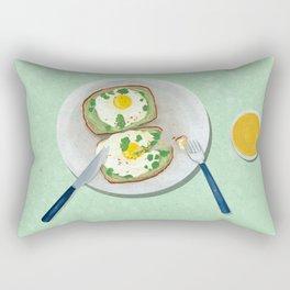 Avocado Toast no.2 Rectangular Pillow