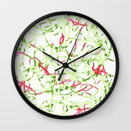 zakiaz dancing ribbon Wall Clock
