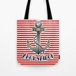 Ahoy Sailor Tote Bag