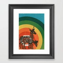 Deer Medicine Framed Art Print