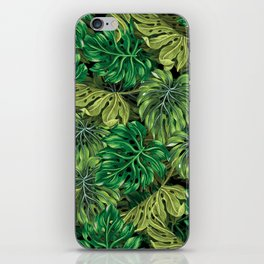 tropical haven 2 iPhone Skin
