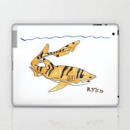 Tiger Cat Shark Laptop & iPad Skin