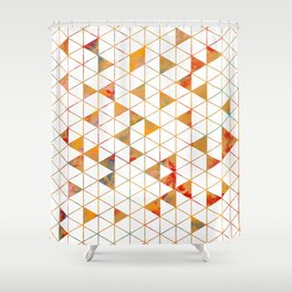 Isometric Shower Curtain
