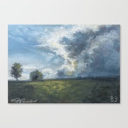 89/100 Canvas Print