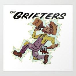 The Grifters tour shirt bootleg Art Print