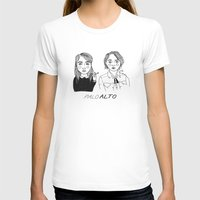 cactei T-shirts featuring Palo Alto by ☿ cactei ☿