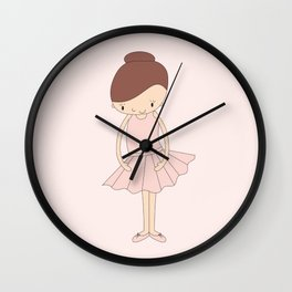 illusima Isabella Ballerina Wall Clock
