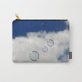 Floating Bubbles Carry-All Pouch