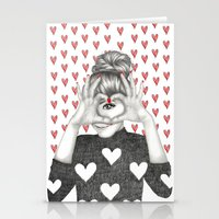 valentine Stationery Cards featuring Valentine by Sara Elan Donati