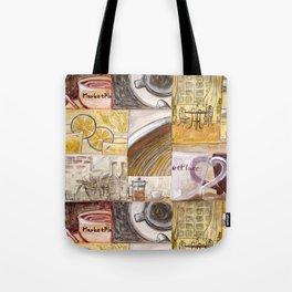 Afternoon Coffee Tote Bag