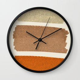 Copper Spots Wall Clock