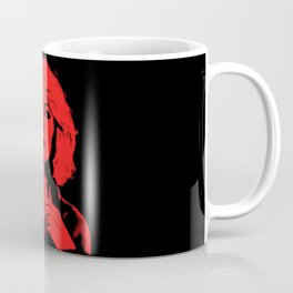 Blondie | Debbie Harry | Red | Pop Art Coffee Mug