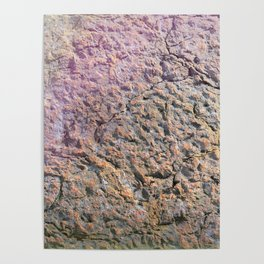 textured wall for background and texture Poster