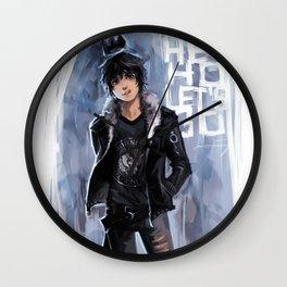 Punk Ghost King Wall Clock