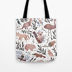 Animals of Australia Field Guide Tote Bag