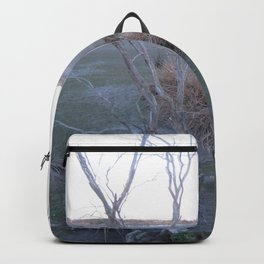Knocked Over Bent Tree Backpack