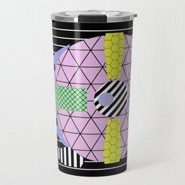 Millennium Falcon Geometric Style - Pastel, abstract design Travel Mug