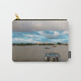 Houseboat in Hue, Vietnam Carry-All Pouch