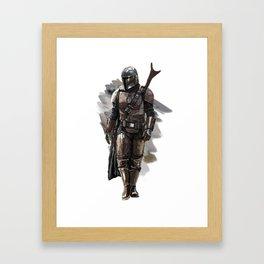 Mandalorian Framed Art Print