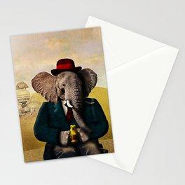 Mr. Preston J. Pachyderm visits the Sphinx Stationery Cards