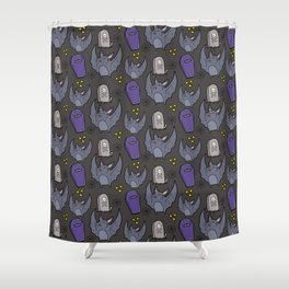 Little Bat Shower Curtain