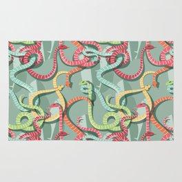 Snakes pattern 002 Rug