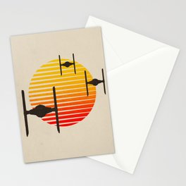 tie fighter, wars star Stationery Cards