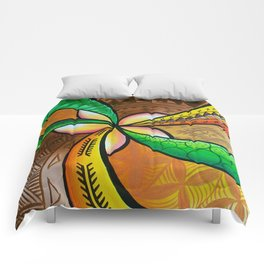 Abstract Pua Comforters