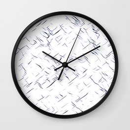 Sketch Pad Wall Clock