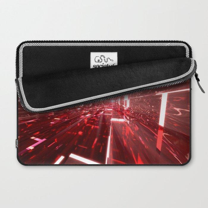 Ruby Tunnels Laptop Sleeve