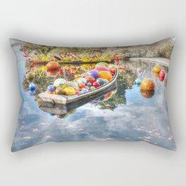 Floating Glass Rectangular Pillow