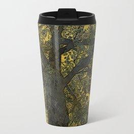 Pecan Tree and Moon Travel Mug
