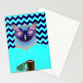 The Owls Are Not What They Seem (unframed) Stationery Cards