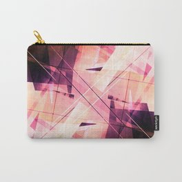 Sunbound - Geometric Abstract Art Carry-All Pouch