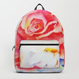 Roses in June Backpack