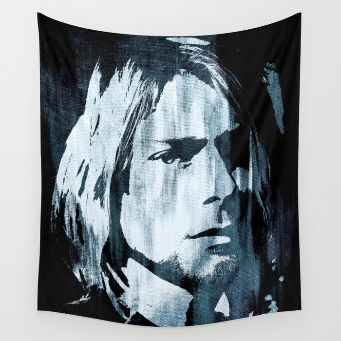Kurt# Cobain#Nirvana Wall Tapestry by dada22 | Society6