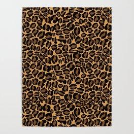 Leopard Print | Cheetah texture pattern Poster
