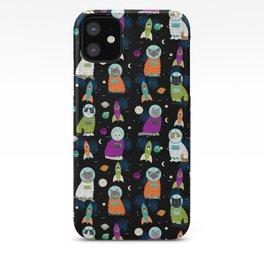 Space Cats - cats in space cute cats cat art cat print iPhone Case