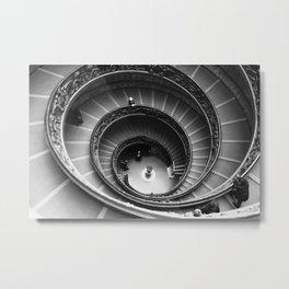 Double Staircase Metal Print
