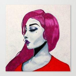 Beauty Felt Canvas Print