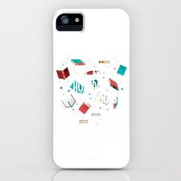 It's Not Hoarding  I Love Books Gift iPhone Case