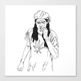 slater-san Canvas Print