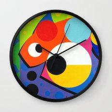 Fish - Paint Wall Clock