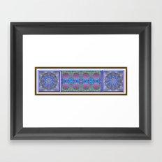 Peaceful Garden Framed Art Print