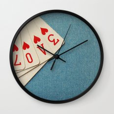 A Full House Wall Clock