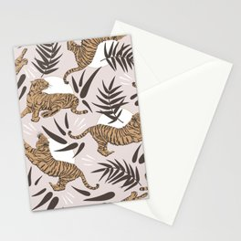 Tigers and Bamboo Leaves Stationery Cards