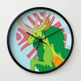 Kirin Wall Clock