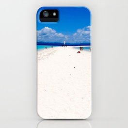 Kalanggaman Island, Leyte, Philippines iPhone Case