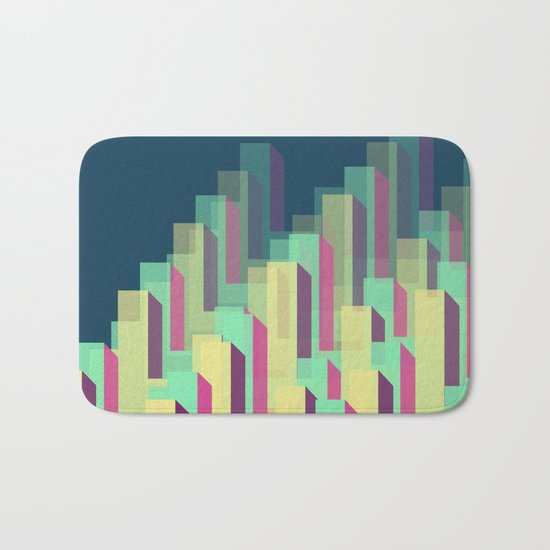 Blocks&Layers Bath Mat